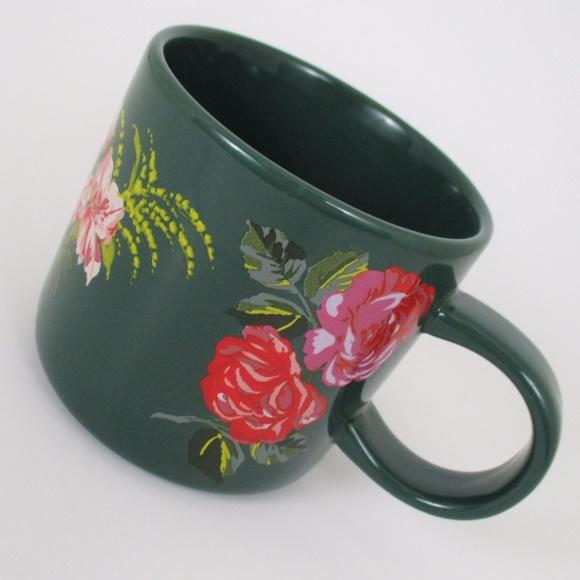 Starbucks x Ban.do Floral Ceramic Coffee Mug 12oz
